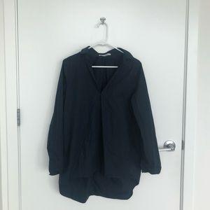 Acne Studio navy shirt